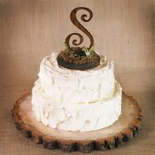 Our Rustic Wooden Monogram Cake Topper Is A Perfect Touch For Your Woodland Nature Fairytale Wedding Each Meticulously Crafted To Suit