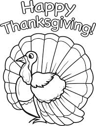 Cute Printable Thanksgiving Coloring Pages