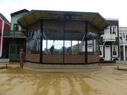 outdoor waterproof patio shades clear vinyl plastic curtain enclosures for porch patio