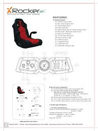 5172301 X ROCKER GAMING CHAIR, X-ROCKER VIBE User Manual ACE ... Bt21c X Rocker Chair User Manual 3324cr Ace Bayou Corp Top 10 Most Popular Pillow For Floor Brands And Get Free Rocker Chair Parts Facingwalls Amazon Cambodia Shopping On Amazon Ship To Ship Httpfworldguicomery264539plantdesign Se 21 Wireless Gaming Blackgrey Walmartcom Best Gaming Chairs 20 Premium Comfy Seats Play Officially Licensed Playstation Infiniti 41 Chairs Armchair Empire 51491 Extreme Iii 20 With Audio System