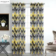 Yellow And Gray Window Curtains by Yellow And Grey Curtains U2013 Teawing Co