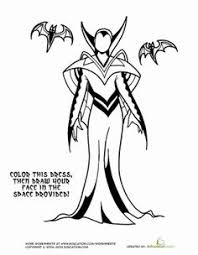 Evil Queen Coloring Page