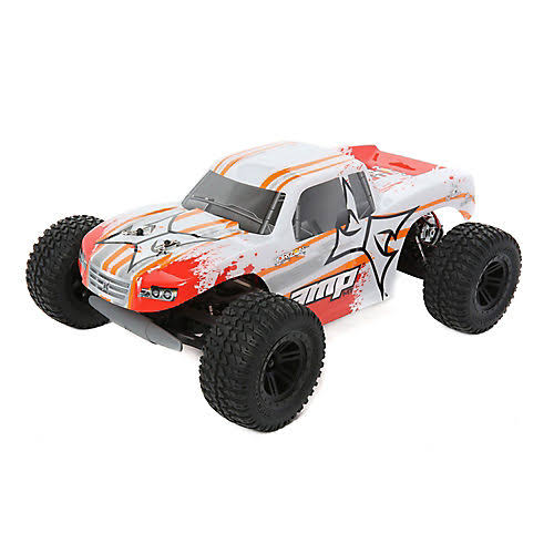 ECX Amp MT Monster Truck - 1/10 2wd, White, Orange