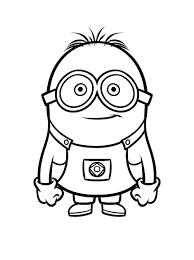 dessin pour imprimer minions 5 coloriage minions coloriages pour enfants