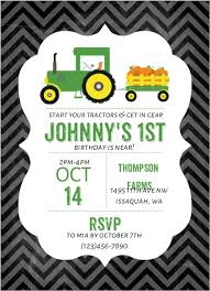 Pumpkin Patch Issaquah by Pumpkin Patch Tractor Birthday Party Invitation Kids Birthday
