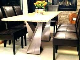 Dining Table Base Ideas Granite Room Diy Designs