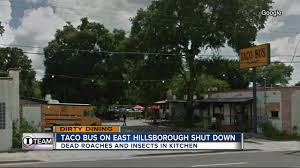 Dirty Dining: Taco Bus Shut Down For 2 Dead Rodents And Evidence Of ... Taco Truck Home Tampa Florida Menu Prices Restaurant Craigslist Trucks Unique The Collection Of Pizza Xtreme Tacos Stores Archive Bus Bandk Eat At A Food Stop Bandksaturdays Bus Fl Youtube Jjpg Wikimedia Rhcommonswikimediaorg Taco U Tampa Fl Truck In Dunnigan Ca Just Off I5 And Across The Street From Is On Move Ylakeland Worlds Largest Festival Ever Part Ii Gator Girl Out Of Swamp Mobile Dj Bay Pinterest Dj Booth