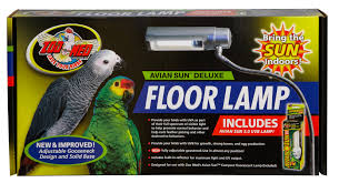 avian sun deluxe floor l with avian sun 5 0 uvb l zoo med