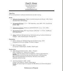 Sample Of A Great Resume Example Applying Examples Resumes College Student With No Experience
