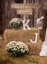 Rustic Wedding Reception Welcome Sign Decor Ideas