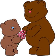 Mama Bear Clipart Cute