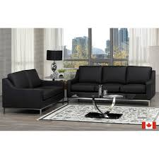 Corsica Top Grain Leather Sofa And Loveseat