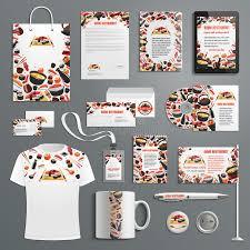 cuisine en promo advertising promo vector items japanese cuisine stock vector