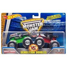 Hot Wheels - Monster Jam Demolition Doubles - Grave Digger Vs Bone ... Monster Truck Madness 6 Getting Started With An Axial Smt10 Big Amazoncom Jam Grave Digger 24volt Battery Powered Rideon Speed Upgrade On The New Power Wheels Rideon Toy 7 Hot Grave Die Cast Custom Ride Ons 12v By Walmartcom Returns To Jersey Nov 1 Through Dec 2 Phl17com 110 4wd Rtr Rc 4x4 Chrome Bright Industrial Co Toys Walmart Trending Now Giant Gift Ideas Shop 124 Remote Control Free