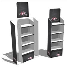 Deluxe Stand Premium Version Of Our Lightweight And Easy To Build FSUs For Retail Product Displays
