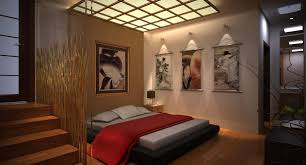 Modern Japanese Style Bedroom Design Of Awesome Interior In With Regard To House