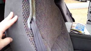 100 Dodge Truck Seat Covers 2001 Ram Seatbelt Problems Part 1 YouTube