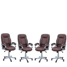 SamDecors 4 Pieces Of LILLY Brown Directors, Executive, Boss, Conference  High Back Office Chair (Set Of 4). Ofm Ess6030brn Ergonomic Highback Leather Executive Office Chair With Arms Brown Architectures Fniture Details About Home Amazoncom Ticova High Back Hon Highback Vinyl Seat Desk Off Chairs Beautiful Best Office Chairs For 20 Herman Miller Secretlab Laz Vinsetto Faux Wooden Tufted Mulfunction Swivel By Flash Online Singapore Bt444midwhgg Mid Traditional Guplushighback