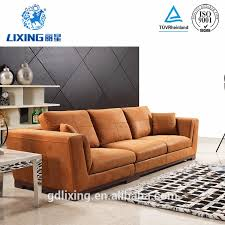 Decoro Leather Sofa Manufacturers by Italian Leather Sofa With Wood Trim Italian Leather Sofa With