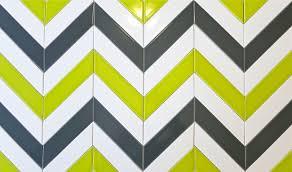 2x8 Ceramic Subway Tile by Ceramic Chevron Subway Tile Grey Carbon Modwalls Tile Modwalls Tile