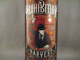 Harvest Pumpkin Ale by Prohibition Harvest Ale Beer Diaries