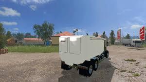 100 Feed Truck Peterbilt 379 V 10 GamesModsnet FS19 FS17
