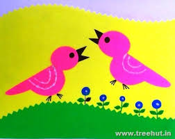 Easy Paper Cutting Birds