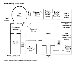 Floorplan Of The West Wing White House