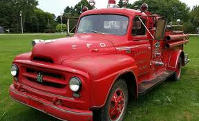 Cherry On Top: 1955 International Fire Truck | Fire Trucks ... Hannover Sep 20 Man Diesel Truck From 1955 At The Intertional Old Stock Photos Cali_ih_r100 Scout Specs Modification Harvester R100 Fast Lane Classic Cars Photo Dcf405 Golden Age Of Ebay Co R132 Vintage Autolirate R110 34 Ton Erskine Exterior Color Red R120 Ton Truckantiqueclassic 1951 1952 1953 1954 Intertional Harvester Pickup Truck 3 Row
