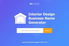100 Words For Interior Design Business Name Generator Instant