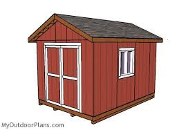 10x14 Garden Shed Plans by 10x14 Shed Plans Myoutdoorplans Free Woodworking Plans And