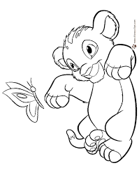 Full Size Of Filmlion King Printable Coloring Pages Lion Outline