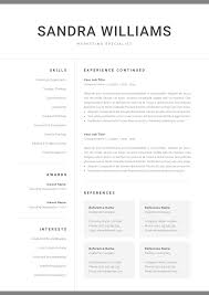 Professional Resume Template For Word | Modern Marketing CV | One ... Two Page Atsfriendly Resume With Testimonial And Quote Section 25 Top Onepage Templates With Simple To Use Examples Should A Be One Awesome Formal Format Document Plus Fit How To Make 17 Sensational Design Ideas 11 Sample Of Wrenflyersorg Ekbiz Free Creative Template Downloads For 2019 Are One Page Or Two Rumes Better Format 28 E
