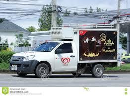 100 Isuzu Mini Truck Refrigerated Container Of Walls Company Editorial Stock