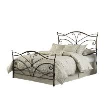 Joss And Main Headboards by Black Iron Bed Frame With Curving Head And Foot Board Combined