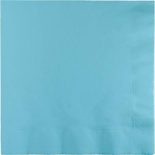 Creative Converting 3 Ply Lunch Napkins, Pastel Blue - 50 count