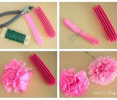 How To Make Tissue Paper Flowers World Love For With Step By