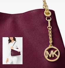 kors handbag jet set large leather shoulder bag mk5010