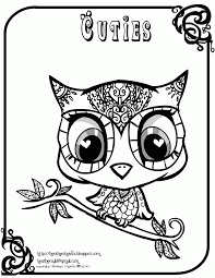 Baby Owl Coloring Pages To Print Free Home
