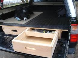 100 Slide Out Truck Bed Storage Drawers Wood Drawers Diy