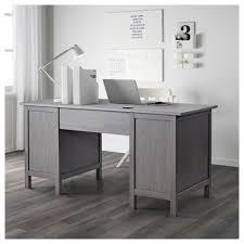 Ikea Secretary Desk With Hutch by Hemnes Desk Black Brown Ikea Within Black Secretary Desk
