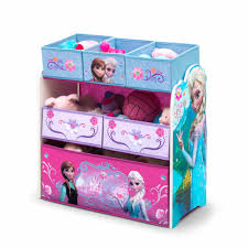Frozen Bathroom Set At Walmart by Delta Children Disney Frozen Multi Bin Toy Organizer Walmart Com