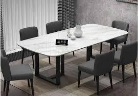 marmor esstisch moderne minimalistischen kleine wohnung esstisch italienische licht luxus schwarz esstisch hause nordic esszimmer ta