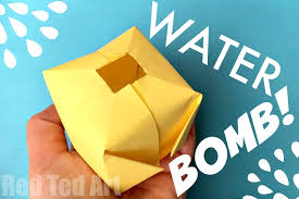 Easy Paper Water Bomb