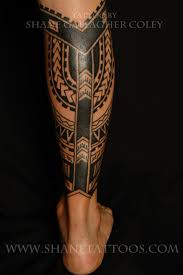 Calf Tattoo Designs For Men