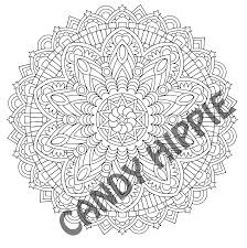 Starseed Mandala Free Coloring Page Printable PDF By Candy Hippie Candyhippie