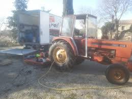chambre a air tracteur agricole changement de chambre à air 14 9r28 sur du matériel agricole à