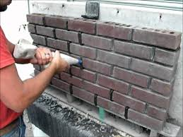 easy tuck point using a masonry grout bag