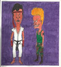 Beavis And Butthead Halloween Pictures by Beavis And Head Cosplay Street Fighter Ii By