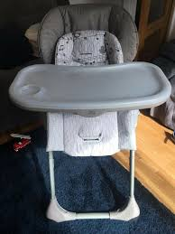 Graco Grey Baby And Toddler High Chair | In Sherwood, Nottinghamshire |  Gumtree Graco Souffle High Chair Pierce Snack N Stow Highchair Blossom 6 In 1 Convertible Sapphire 2table Goldie Walmartcom Highchair Tagged Graco Little Baby 4in1 Rndabout Amazoncom Duodiner Lx Tangerine Buy Baby Flyer 032018 312019 Weeklyadsus Baby High Chair Good Cdition Neath Port Talbot Gumtree Best Duodiner For Infants Gear Mymumschoice The New Floor2table 7in1 Provides Your